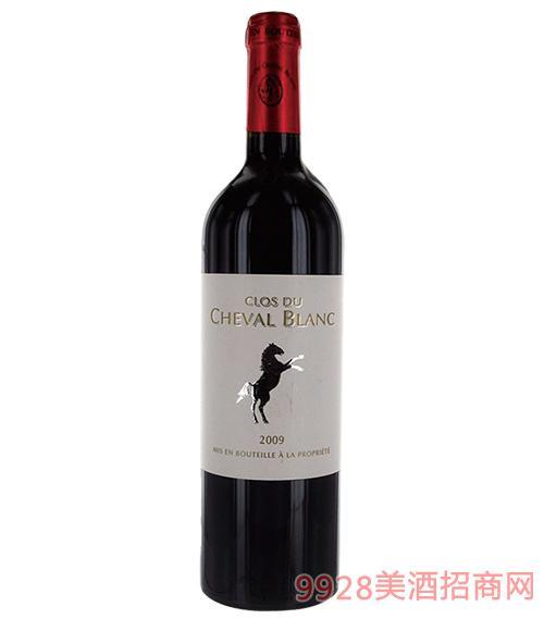 法国小白马干红葡萄酒