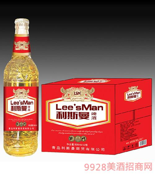利斯曼啤酒500mlx12