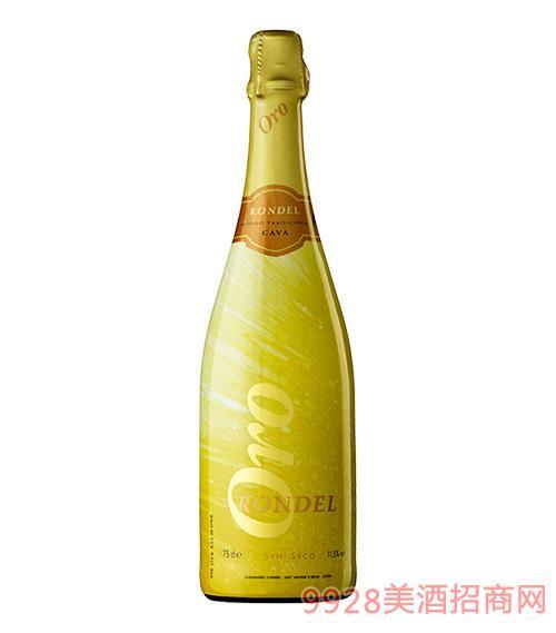 迴旋曲金灿气泡酒(半干型)11.5度750ml