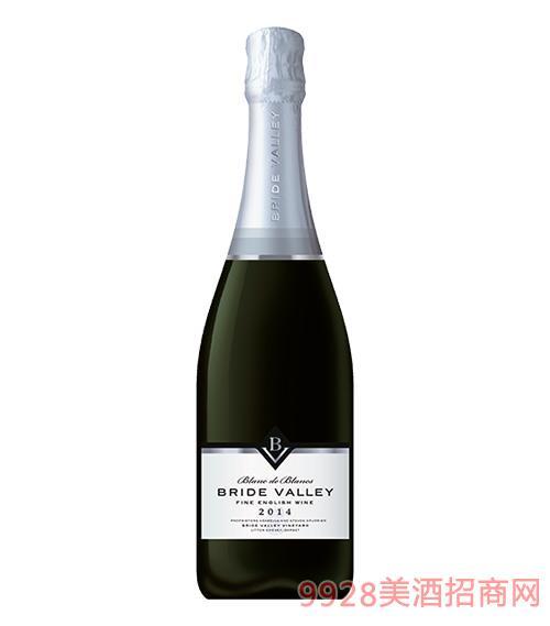 布莱谷白中白年份气泡酒11.5度750ml