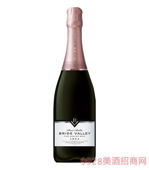 布莱谷美人粉红年份气泡酒11.5度750ml