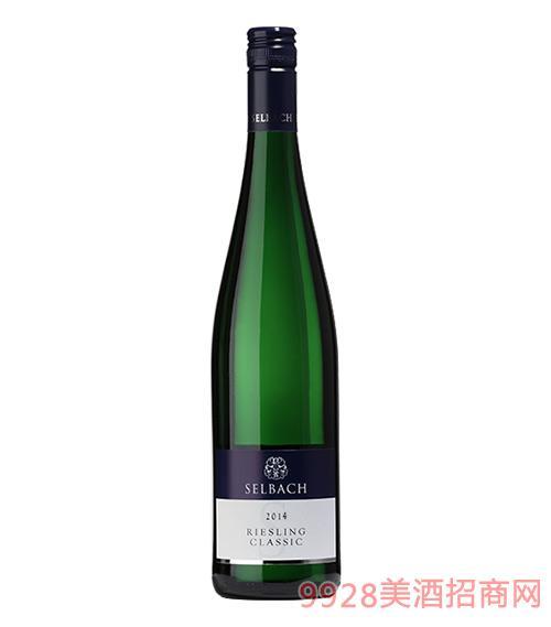 丽丝玲经典不甜白葡萄酒12度750ml