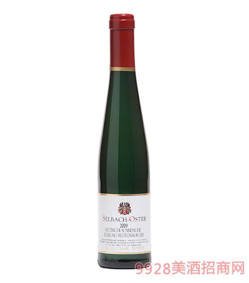 塞尔廷阁村庄日晷葡萄园丽丝玲BA甜白葡萄酒8度375ml