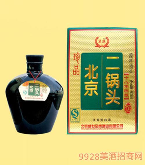 珍品北京二锅头酒56度500ML