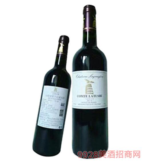 拉图仕伯爵城堡干红葡萄酒