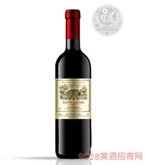 拉图仕城堡干红葡萄酒13.5度