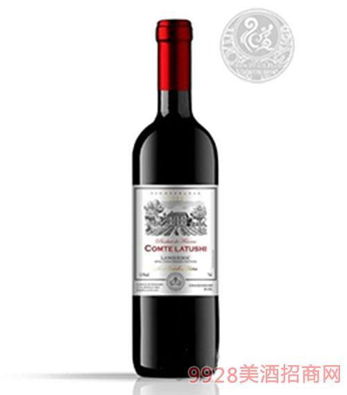 拉图仕城堡梅洛干红葡萄酒