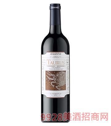 金牛星座图力斯红葡萄酒