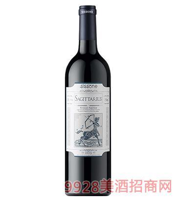 射手星座莎杰图瑞思红葡萄酒