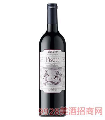 双鱼星座派希思红葡萄酒