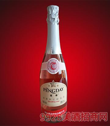 金星桃红起泡酒