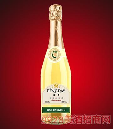金星甜白起泡酒