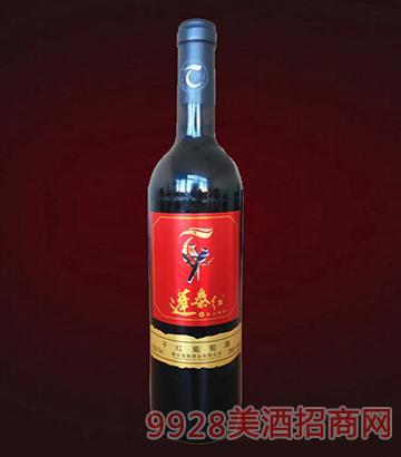 蓬泰红喜上梅梢干红葡萄酒(直口瓶)