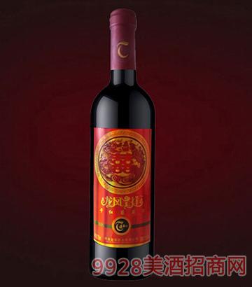 蓬泰龙凤呈祥干红葡萄酒