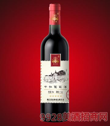 邮票系列干红葡萄酒