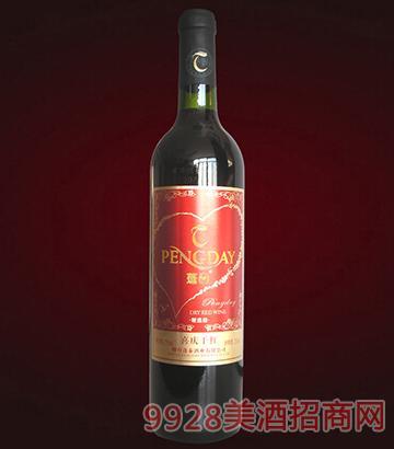 蓬泰喜庆干红葡萄酒
