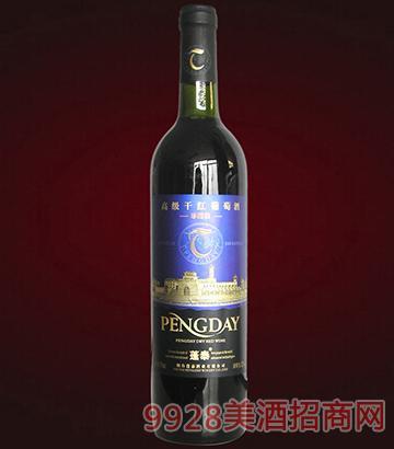 蓬泰高级干红葡萄酒(光瓶)