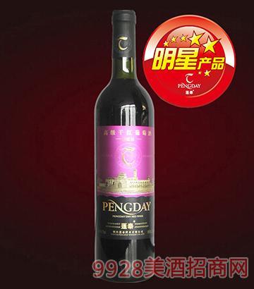 蓬泰高级干红葡萄酒-光瓶750ml