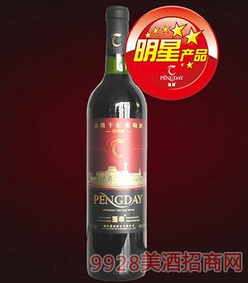 蓬泰高级干红葡萄酒(光瓶)12度750Ml