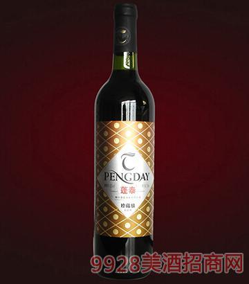 蓬泰干红葡萄酒珍藏级750ml