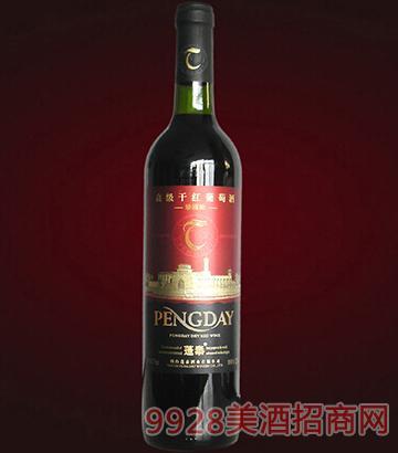蓬泰干红葡萄酒世博会用酒12度750ml
