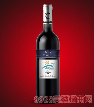 蓬泰3S法则美乐干红葡萄酒