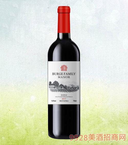 伯格家族西拉干红葡萄酒