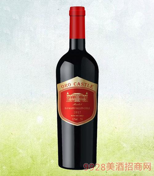欧洛城堡美乐干红葡萄酒