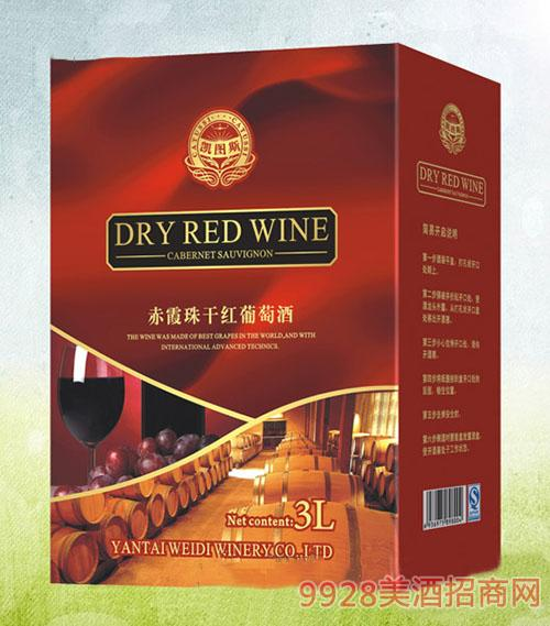 wd-3升利乐包葡萄酒