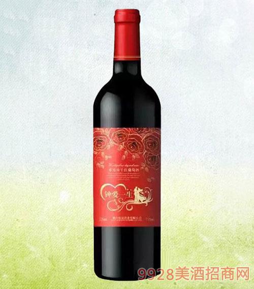 钟爱一生干红葡萄酒