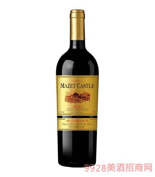 马西庄园干红葡萄酒13.5度750ml