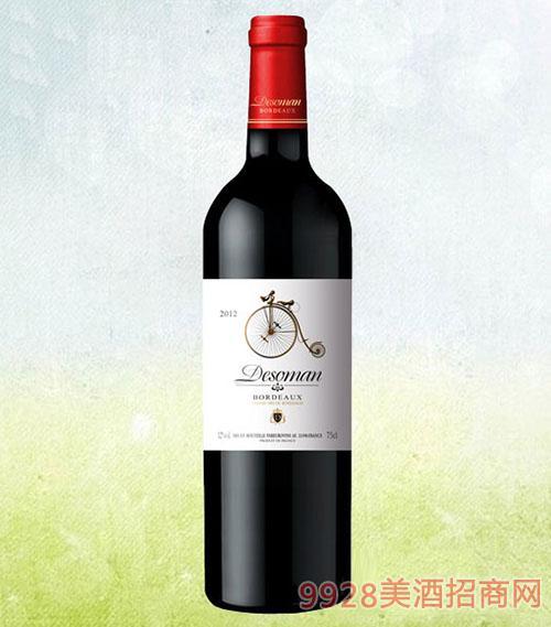 德索曼·古董车干红葡萄酒