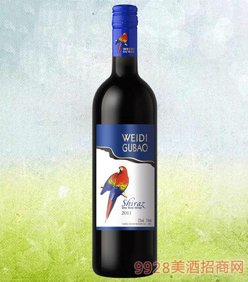 红鹦鹉西拉干红葡萄酒