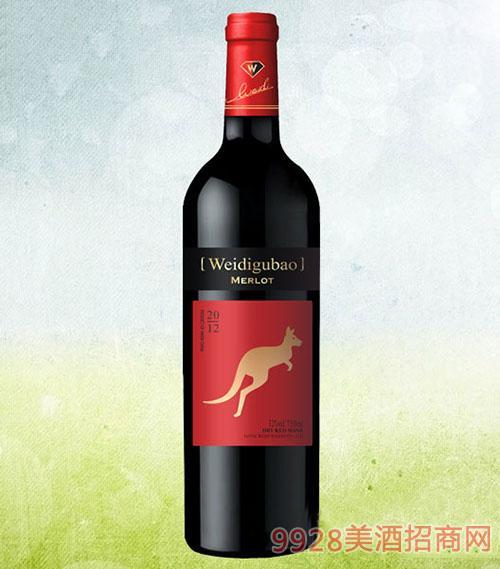 金袋鼠经典美乐干红葡萄酒