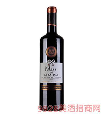 拉巴斯小姐干红葡萄酒