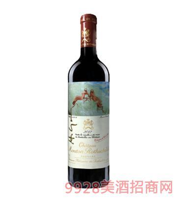 木桐酒庄干红葡萄酒2012
