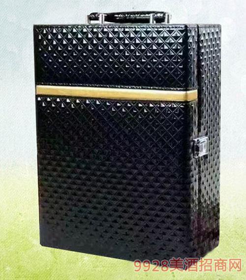 德索曼双支黑皮盒