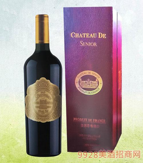 金伯爵干红葡萄酒紫盒