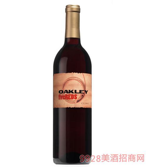 奥克雷五星干红葡萄酒