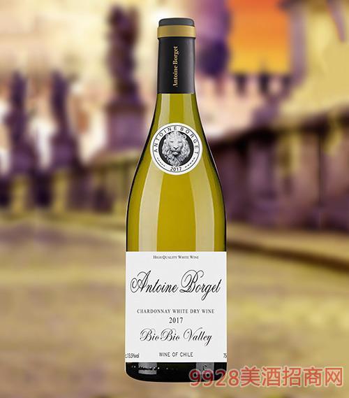 智利莎当妮干白葡萄酒