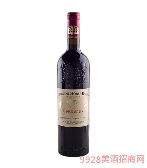 法国利布尔纳白马酒庄葡萄酒2012