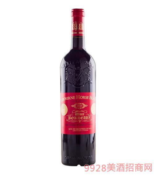 法国利布尔纳白马酒庄葡萄酒2015