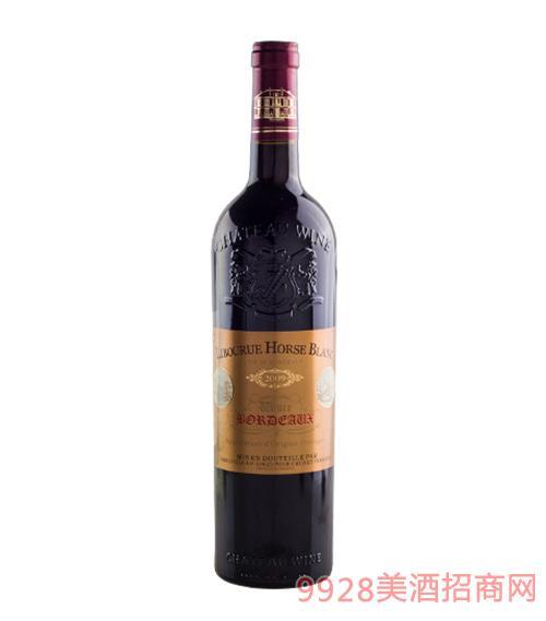 法国利布尔纳白马酒庄葡萄酒2009金标
