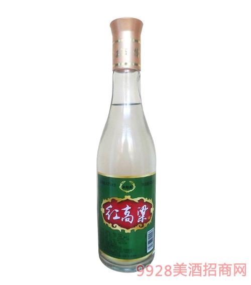42度新郎新红高粱酒450ml绿标