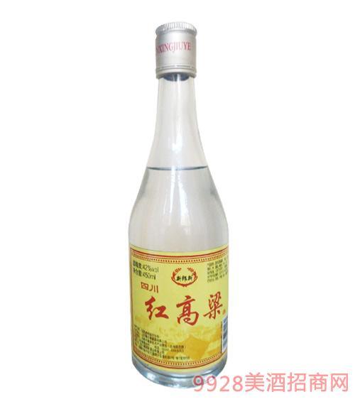 新郎新红高粱酒42度450ml黄标