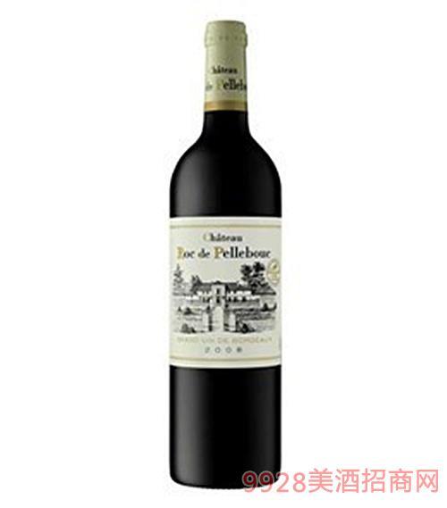 法国罗克佩利古堡干红葡萄酒