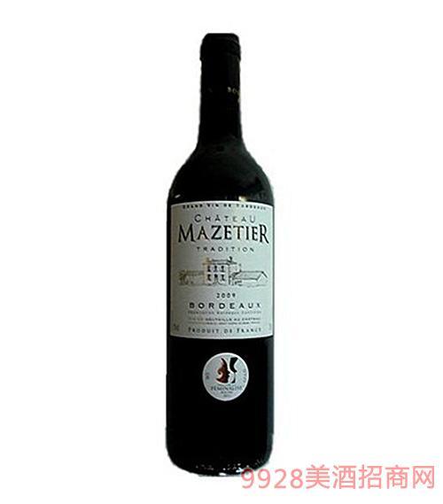 法国麦喆古堡干红葡萄酒