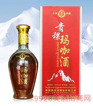 藏佳纯青稞玛咖酒52度500ml