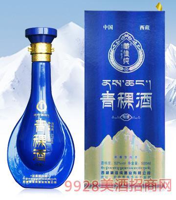 藏佳纯青稞酒精酿52度500ml