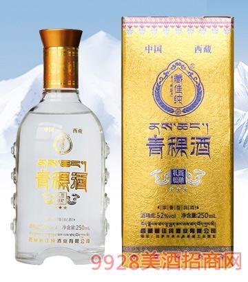 藏佳纯青稞酒扎西德勒52度250ml